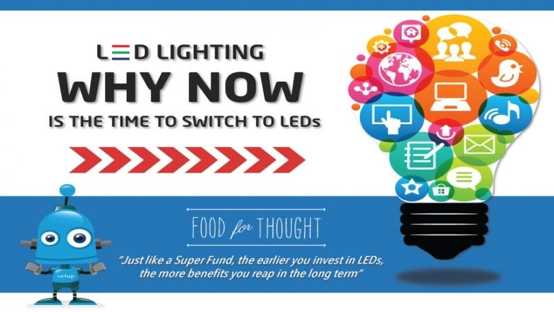 Why Now is the Time to Switch to LED Lighting